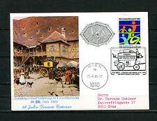UNO Wien Sonderpostbeförderung mit Postkutsche 1985   (UN37)