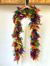 Multi Color Feather Boa Dance Costume