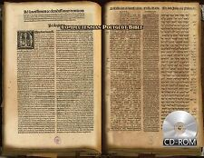 Complutensian Polyglot Bible - First Edition - 1514 AD Ancient Greek Hebrew etc