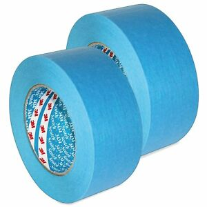 3M Protection Tape 50mm x 50m Blue Car Painting Masking Water Solvent Resistant