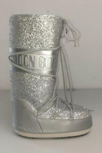 Moon Boot Schuhe Größe 35/38 silber/grau (wie NEU)