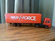 Très rare vintage de collection Parcelforce Royal Mail Camion/Remorque