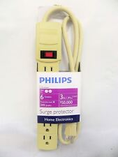 Philips SPP3160C/17 Home Electronics Surge Protector with 6 Outlets