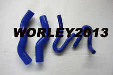 Blue silicone radiator heater hose for Rodeo RA 3.0 Turbo Diesel 2003-2007