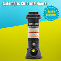 Automatic Chlorine Feeder For Swimming Pool In-line Chemical Dispenser Tablet AU