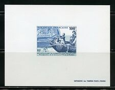 FRENCH POLYNESIA SCOTT#515 DELUXE SOUVENIR SHEET ON CARD  MINT NEVER HINGED