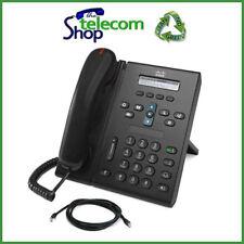 Cisco 6921 Unified IP Phone in Black - CP-6921-C-K9 W/O PSU