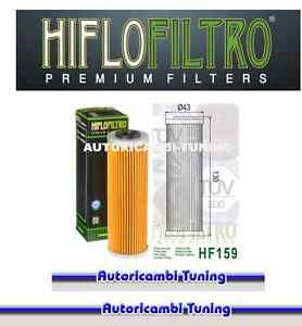 Oil Filter HIFLO HF159 Motorcycle Ducati 1199 Panigale R - Cc - Years: 2013 -
