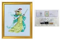 MIRABILIA Cross Stitch PATTERN & EMBELLISHMENT PACK Lady Justice MD160