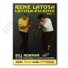Rene Latosa Filipino Martial Arts Escrima Kali Stick Fight #1 Dvd Newman