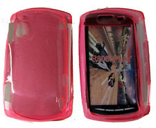TPU Rubber Gel Case Protector Cover PINK For Sony Ericsson Xperia Play Z1i R800i