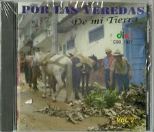 Por Las Veredas De Mi Tierra Volume 2 Latin Music CD New