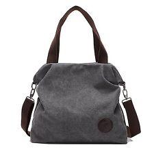 Mfeo Women Weekend Travel Shopping Canvas Big Bag Work Bag Shoulder Bag Handbag