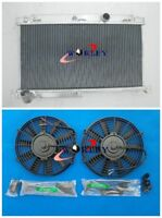 3Row Aluminum Radiator+FAN for Mazda RX7 FD3S Manual 1992-1995 92 93 94 95