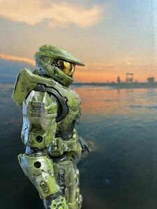 Custom Halo The Spartan Collection Master Chief Action Figure