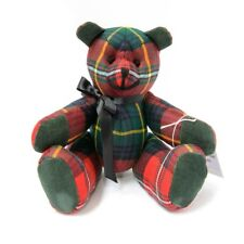 Boyd Modern Tartan Collectable Bear Handmade Very Limited