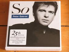 NEW/SEALED 3 CD Peter GABRIEL: SO (25th anniversary deluxe edition) Live Athens