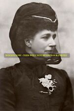 mm575-Queen Alexandra in mourning for husband King Edward VII -Royaltyphoto 6x4""