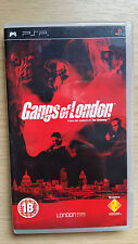 Gangs of London Sony PSP 18+ Fighting Shooter Game - Boxed with instructions