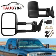 For 88-98 Chevy/GMC C/K 1500 2500 3500 POWER Towing Tow Side Mirrors Left+Right