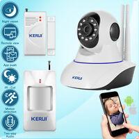 KERUI N62 WIFI IP Camera Wireless Home Security Alarm System Motion PIR Sensor