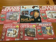 Prank Gift Box Lot of Six (6) (3 Large/3 Medium) New