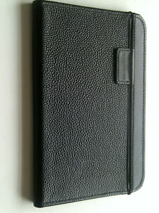 Amazon Black Leather Cover case for Kindle keyboard model D00901 3rd Generation