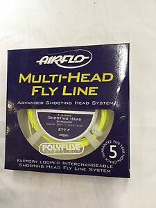 AIRFLO MULTI HEAD FLOATING SHOOTING HEAD ST7F STANDARD FLY LINE