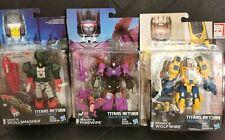 Transformers Titans Return Weirdwolf Skullcruncher Mindwipe headmasters