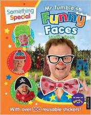Something special mr tumble's drôle visages livre d'autocollants, nouveau, quelque chose de spécial b