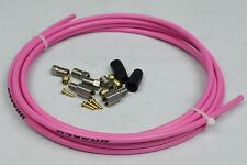 HYDRAULIC DISC BRAKE HOSE KIT SUIT MAGURA MARTA LOUISE PINK 9.8FT 3M