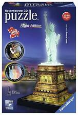 Ravensburger Statue of Liberty - Night Edition, 108pc 3D Jigsaw Puzzle