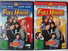Full House - komplette Staffel 1 + 2 - Sitcom 80er - Mädchen Millionär Bologna