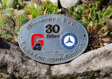 AUTOMOBILE CAR BADGE # MERCEDES BENZ G - CLASS OFFROAD CLUB GERMANY 30 JEARS