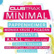 CD Club Trax Minimal von Various Artists Mixed By Chico Chiquita