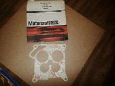 New NOS CG-497 MOTORCRAFT Ford D7VZ-9447-CA  Carburetor Mounting Gasket