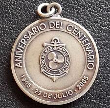 URUGUAY 2005 MECHANICAL NAVAL CENTENNIAL ANNIVERSARY ANCHOR DESIGN