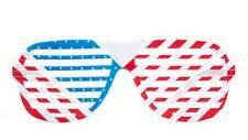 USA flag shutter style USA sunglasses