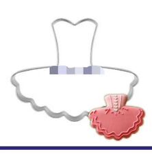 Ballet Dress Stainless Cookie Cutters Sugar Cake Pastry Biscuit Baking Mold