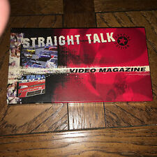 STRAIGHT TALK VIDEO MAGAZINE VHS 1999 NASCAR WINSTON CUP SPRINT SERIES NEXTEL