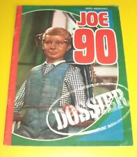 gerry anderson Joe 90 dossier from sutherlands spreads 1969 promotion