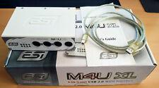 ESI M4U XL Midi Interface 4xIN und 4xOUT  USB2.0