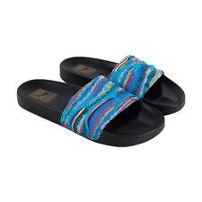 Puma Leadcat Coogi Multi 36750701 Mens Blue Canvas Slides Sandals Shoes 8