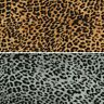 Double Georgette Fabric Leopard Print Animal Skin 145cm Wide