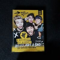 5SOS Hey! LETS MAKE A BAND BOOK official 5 seconds of summer merchandise