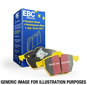 EBC Yellowstuff Front Brake Pads for 14-18 Mercedes CLA45 AMG w/13.8in Rotors