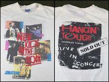 Vintage Mens XL 1989 NKOTB New Kids On The Block Hangin Tough World Tour T-Shirt