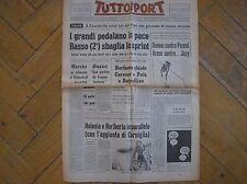 TOUR DE FRANCE CHARLEVILLE TAPPA ETAPE GAGNE LEMAN TUTTOSPORT 2/7/1969 CICLISMO