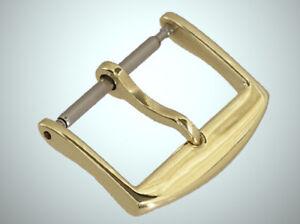 18mm 18ct. Gelbgold Schliesse für Lederband Gold 750 18kt