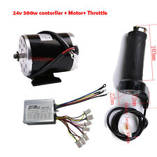 24v 500w Brush Motor Speed Controller Throttle Grip for Electric Scooter Bike